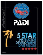 PADI Dive Shop and Resort Levels