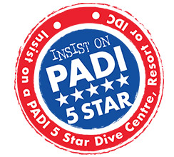 PADI 5 STAR IDC Center Rating