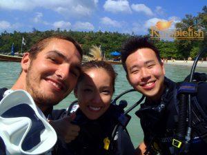 Kata beach scuba diving Phuket