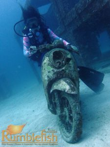 PADI diver Racha Yai scuba diving Phuket