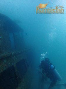 Wreck at Racha Yai scuba diving phuket